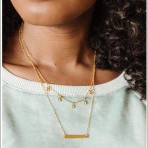 ✨ Fosterie Layered Gem Necklace✨